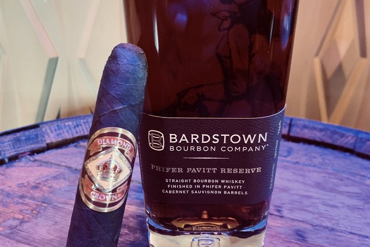 Bardstown Bourbon Phifer Pavitt and Diamond Crown Figurado #6
