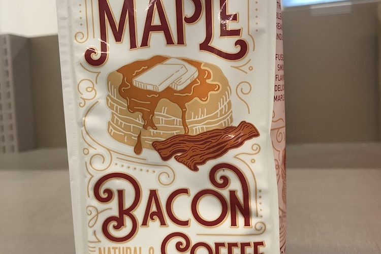 Maple Bacon Coffee as seen at Aldi supermarket